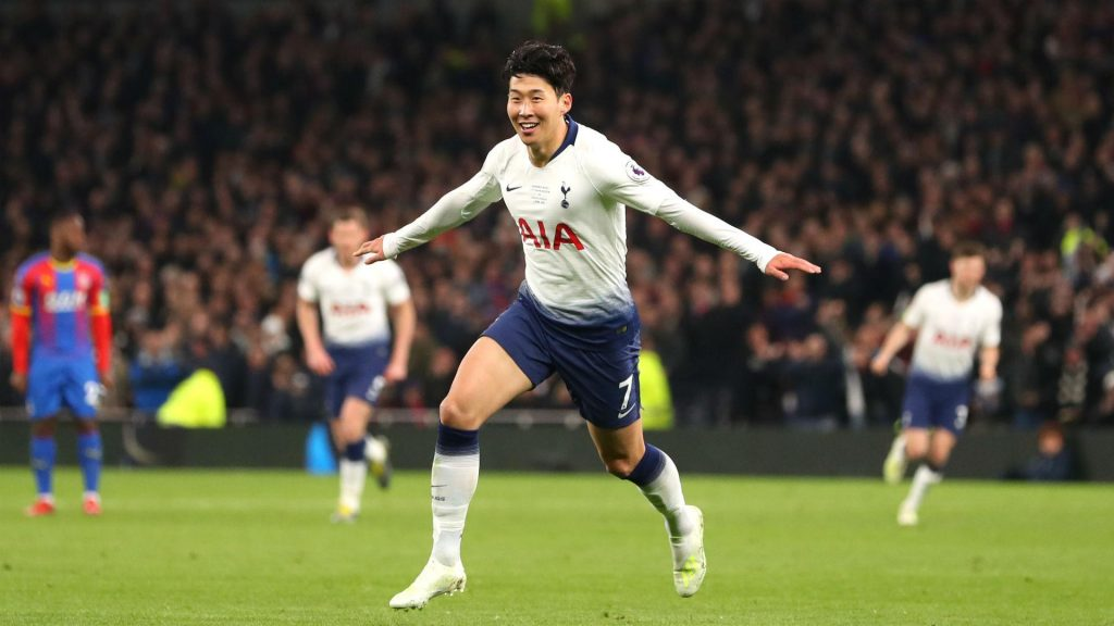 son-heung-min-spurs-Crystal-Palace