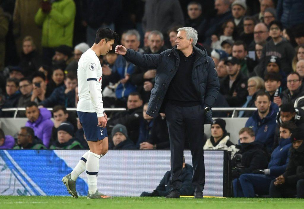 Son-Heung-min-red-card-mourinho