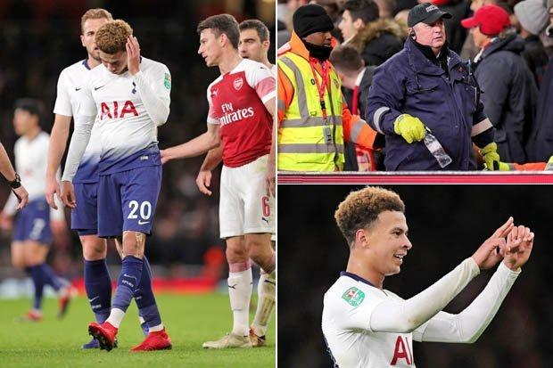Arsenal-identify-image-of-bottle-thrower-during-loss-to-Tottenham