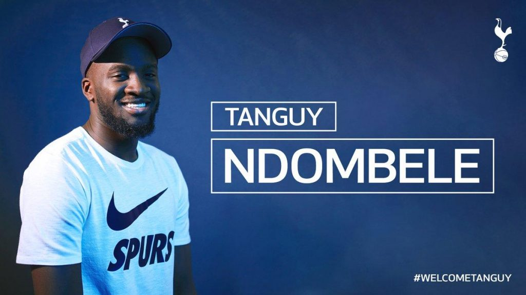 ndombele-tottenham-club-record-deal