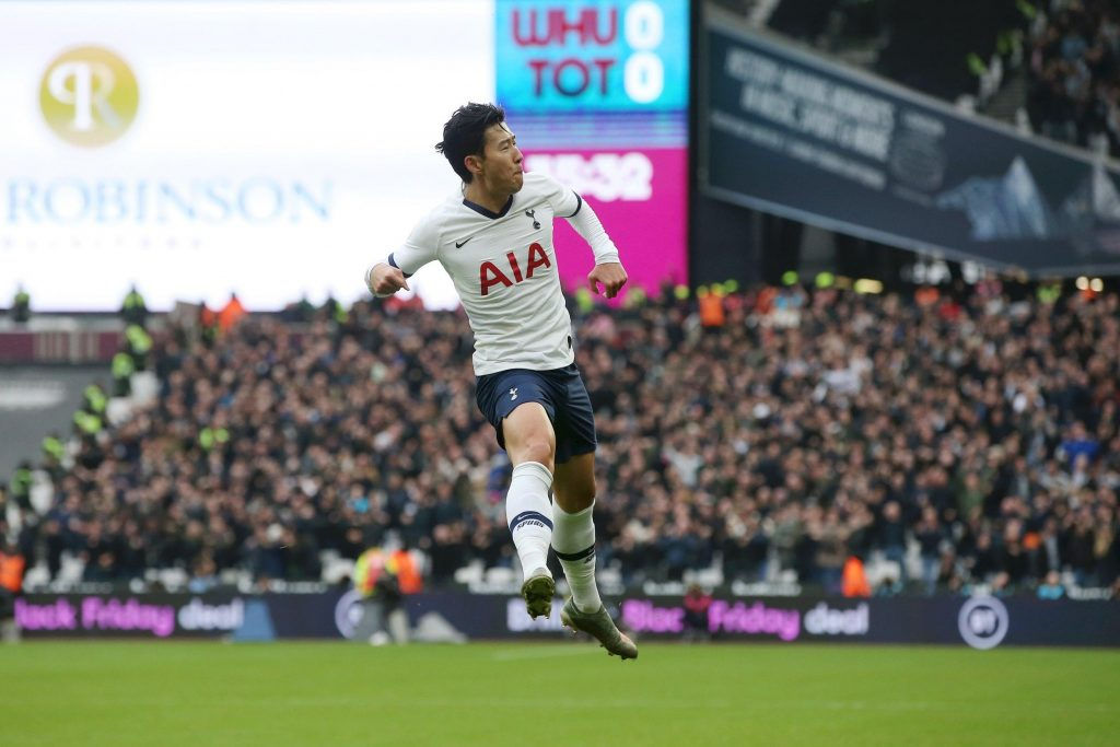 West-Ham-vs-Tottenham-heungmin-son