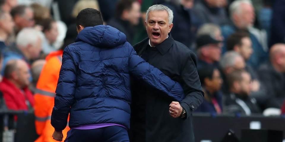Zoze-Mourinho-Tottenham