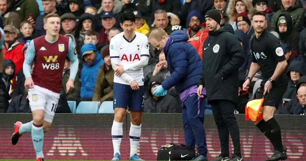 heung-min-son-arm-injury