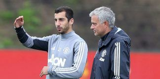 Henrikh_Mkhitaryan_Jose_Mourinho