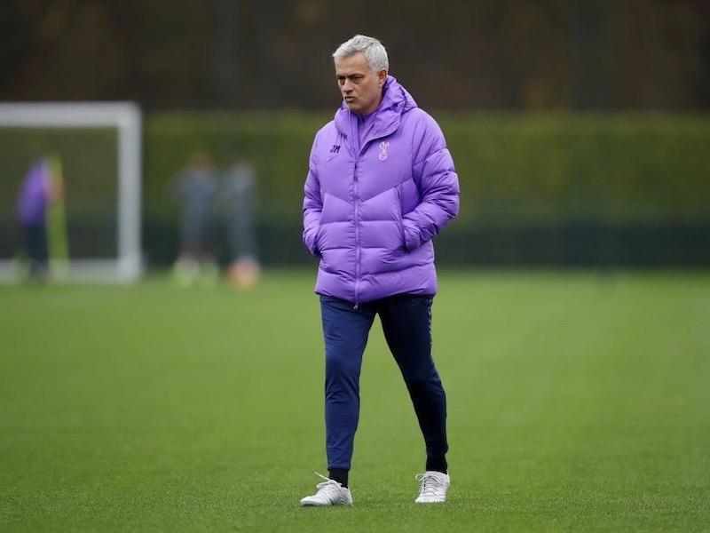 jose-mourinho-champions-league-tottenham-training