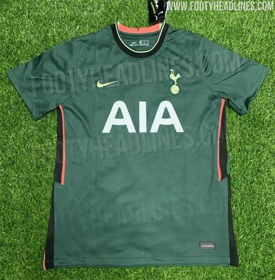 Tottenham Hotspur 2020 21 Home Away Third Kit Leaked