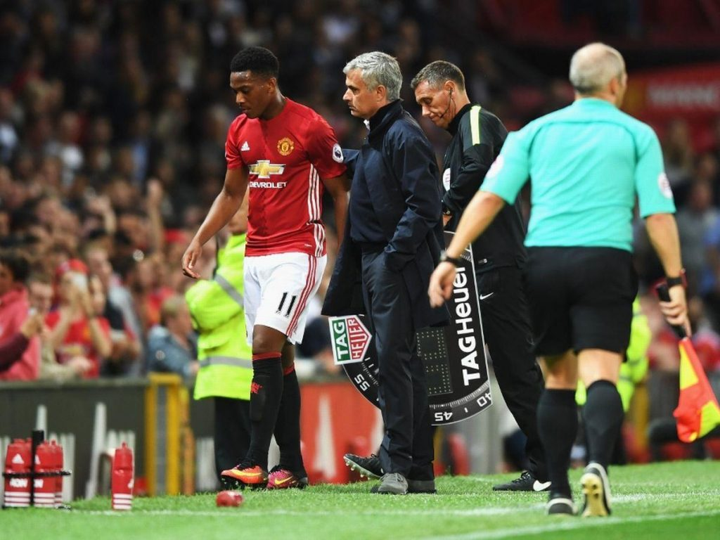 Manchester-United-v-Southampton-Premier-League-mourinho-martial