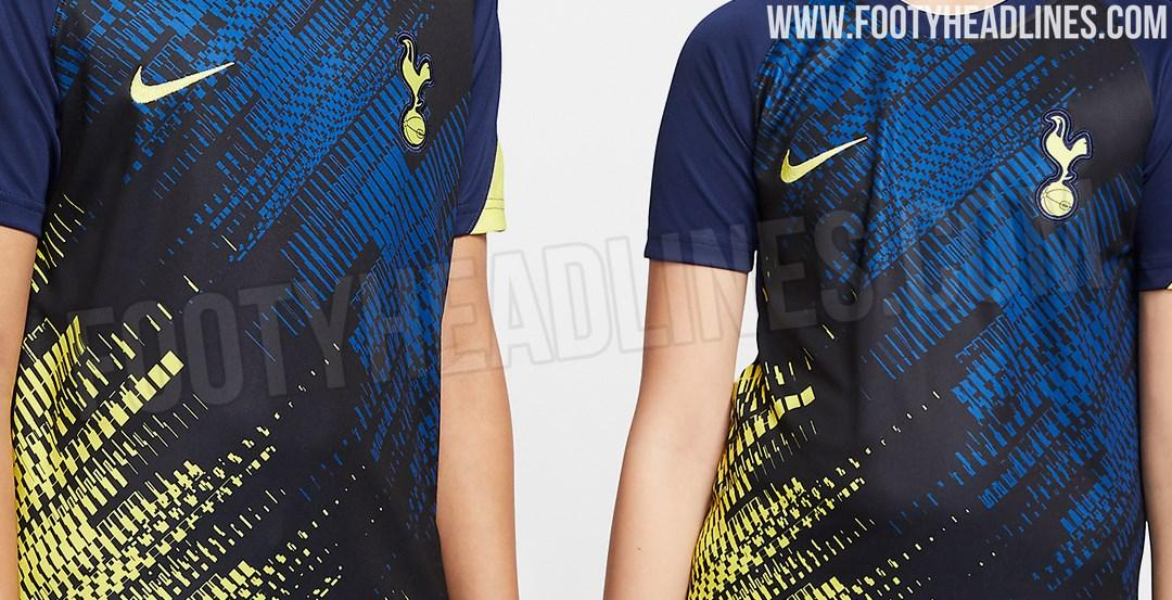 Tottenham Hotspur 2020 21 Home Away Pre Match Kit Leaked