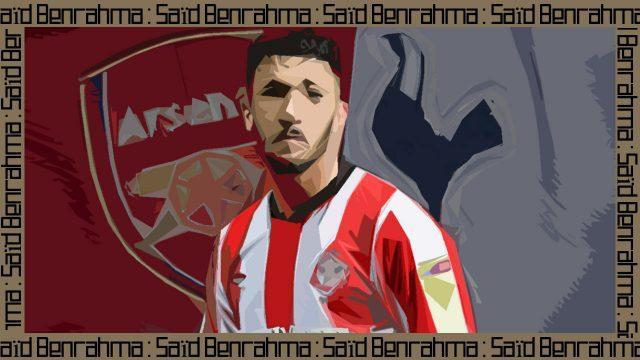 Saïd-Benrahma-Tottenham-Arsenal