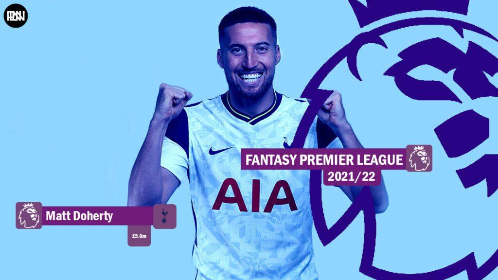 FPL-Matt-Doherty-Tottemham-hotspur-Fantasy-Premier-League-2021-22