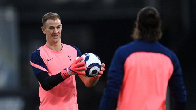 Joe-Hart-Tottenham-Spurs-training
